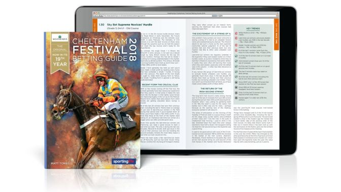 WIN a Copy of the Weatherbys Cheltenham Festival Betting Guide
